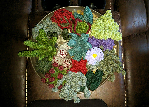 PlanetJune BotaniCAL crochetalong entries