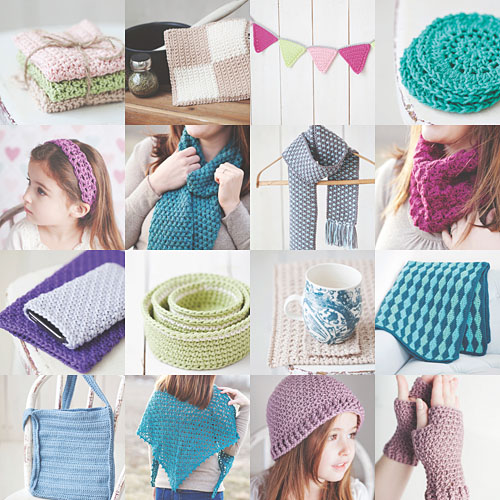 Idiot's Guides: Crochet by June Gilbank - patterns