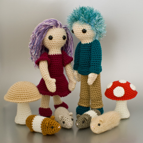 The Complete Idiot's Guide to Amigurumi by June Gilbank - patterns