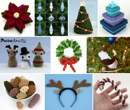 PlanetJune Christmas CAL crochet patterns