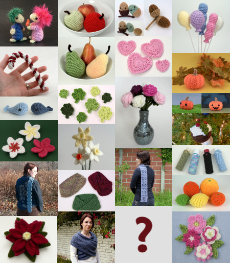 Donationware crochet patterns from PlanetJune