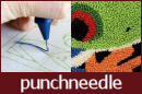 Punchneedle Embroidery information, ebook & patterns