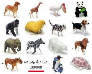 hitachi-animal-papercraft
