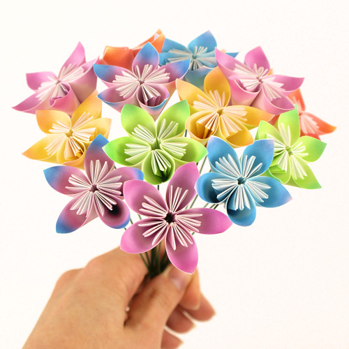 Blog planetjune by june gilbank kusudama flowers tutorial origami paper kusudama flower bouquet by planetjune mightylinksfo