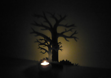 shadow tree decoration