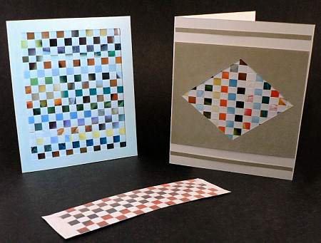 paper weaving papercraft tutorial by planetjune