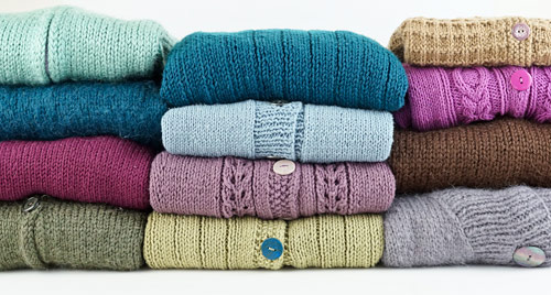 12 knit sweaters project