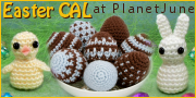 Easter Crochetalong and Contest at PlanetJune
