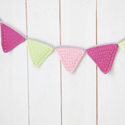 Idiot's Guides: Crochet by June Gilbank - Practice Project 3: Triangle Bunting