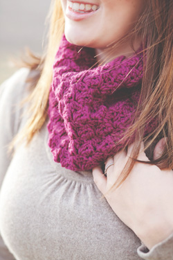 Idiot's Guides: Crochet by June Gilbank - Cozy Cowl pattern