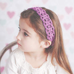 Idiot's Guides: Crochet by June Gilbank - Practice Project 5: Pretty Headband