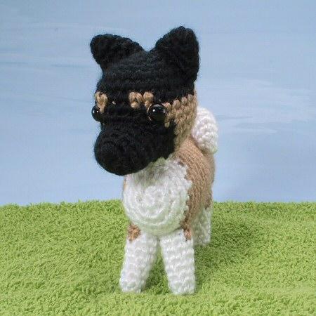 AmiDogs Akita amigurumi crochet pattern by planetjune