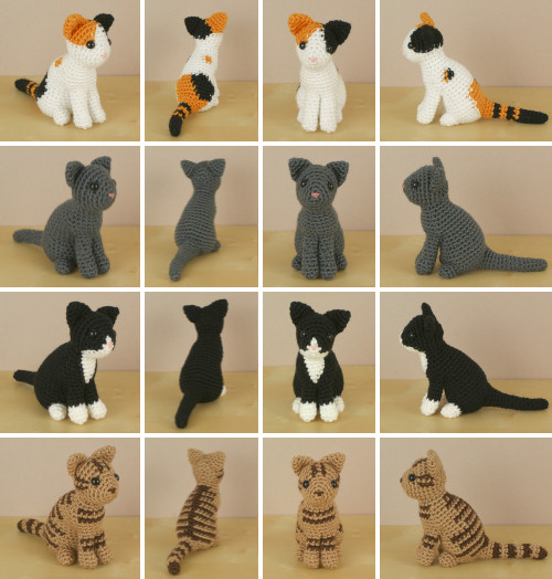 Amigurumi Dera-Cats Crochet Kit and Pattern – Deramores | 524x500