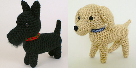 AmiDogs collar pattern by PlanetJune - free with any AmiDogs pattern purchase