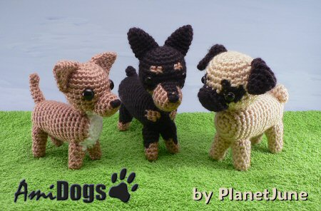 amidogs set 4 patterns by planetjune