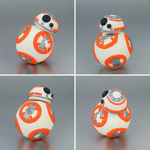 polymer clay BB-8 by planetjune