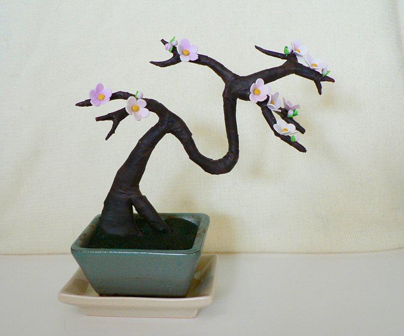 artificial bonsai sakura