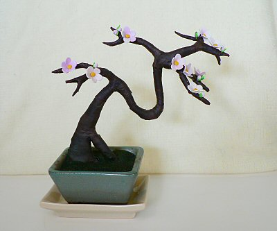 artificial bonsai sakura