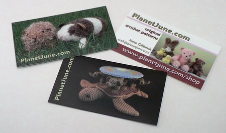 planetjune business cards