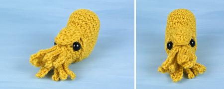 baby nautilus amigurumi crochet pattern by planetjune