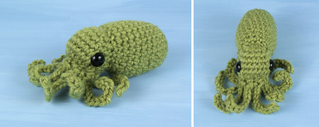 baby octopus amigurumi crochet pattern by planetjune