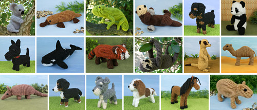 PlanetJune commissioned crochet patterns: 18 designs in 5 years