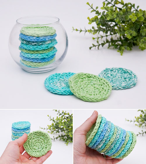 eco-friendly cosmetic rounds crochet pattern by planetjune