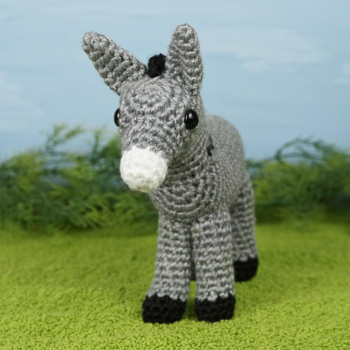 Donkey amigurumi crochet pattern : PlanetJune Shop, cute and ... | 500x500