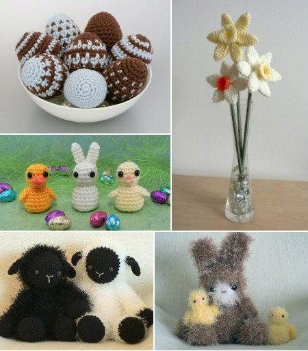 PlanetJune Easter-themed crochet patterns