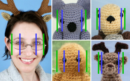 Eyes For Amigurumi : Blog u2013 planetjune by june gilbank » positioning amigurumi eyes
