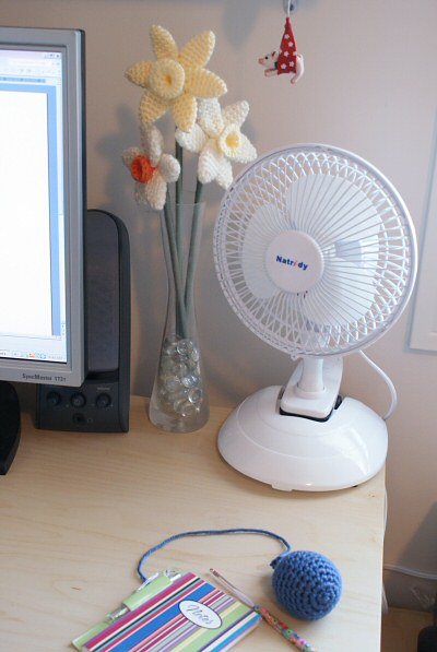 the ugly desk fan