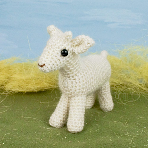 kid goat from Farmyard Goats crochet pattern by PlanetJune