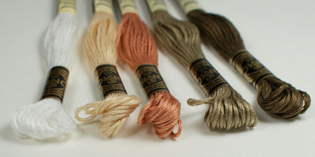 embroidery floss by planetjune