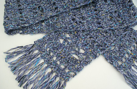 Frosty Windows Scarf by PlanetJune
