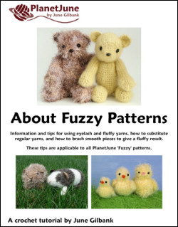 'About Fuzzy Patterns' reference guide, by June Gilbank