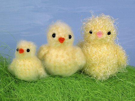 Blog Planetjune By June Gilbank 3 Fuzzy Chicks Brushed Crochet