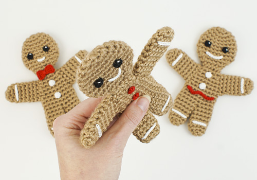 Blog Planetjune By June Gilbank Gingerbread Family Crochet Patterns