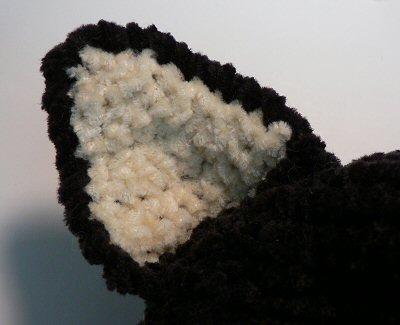 Crochet Black Cat Hat (With images) | Crochet animal hats, Crochet ... | 325x400
