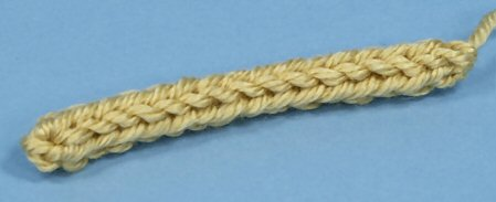 crocheted i-cord
