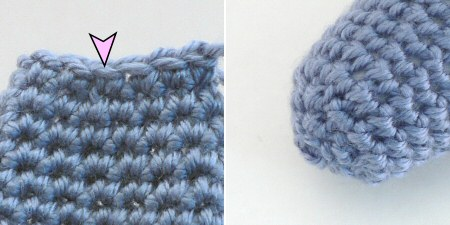 amigurumi invisible decrease