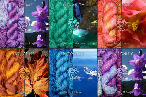 Incyanity yarns (photos by Cheyenne Brammah)