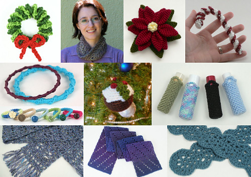 free PlanetJune last-minute Christmas crochet patterns