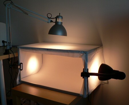 prototype light tent