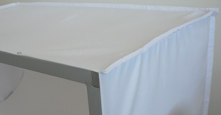 fabric cover for light tent