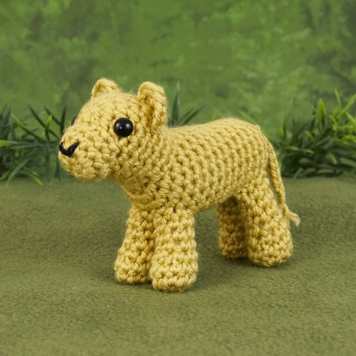 DIY Amigurumi Tutorial on how to Crochet an Amigurumi Lion Part 1 ... | 500x500