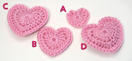 Amigurumi Heart Free Crochet Pattern | The Sun and the Turtle | 208x450