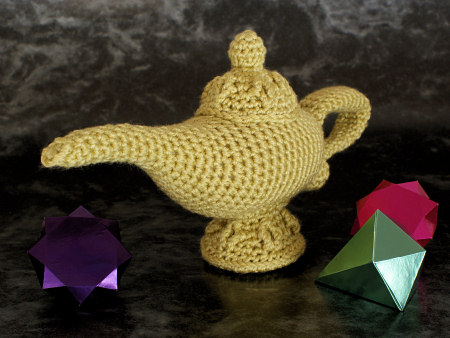 magic lamp amigurumi crochet pattern by planetjune
