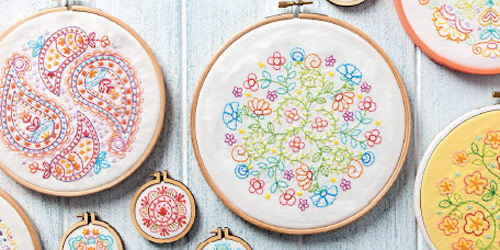 Mandalas to Embroider by Carina Envoldsen-Harris
