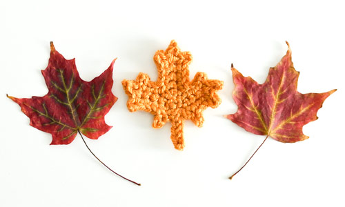 Maple Leaf Collection crochet pattern by PlanetJune