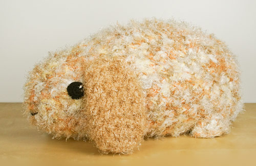 Mega Bun extreme amigurumi (made from Baby Bunnies crochet pattern by PlanetJune)